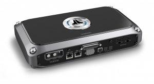 8-канальный широкополосный усилитель мощности D-класса со встроенным 10-канальным DSP-аудиопроцессором